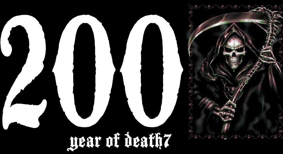 2007. Year of death7.