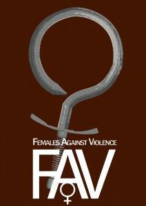Плакат «Женщины против насилия»