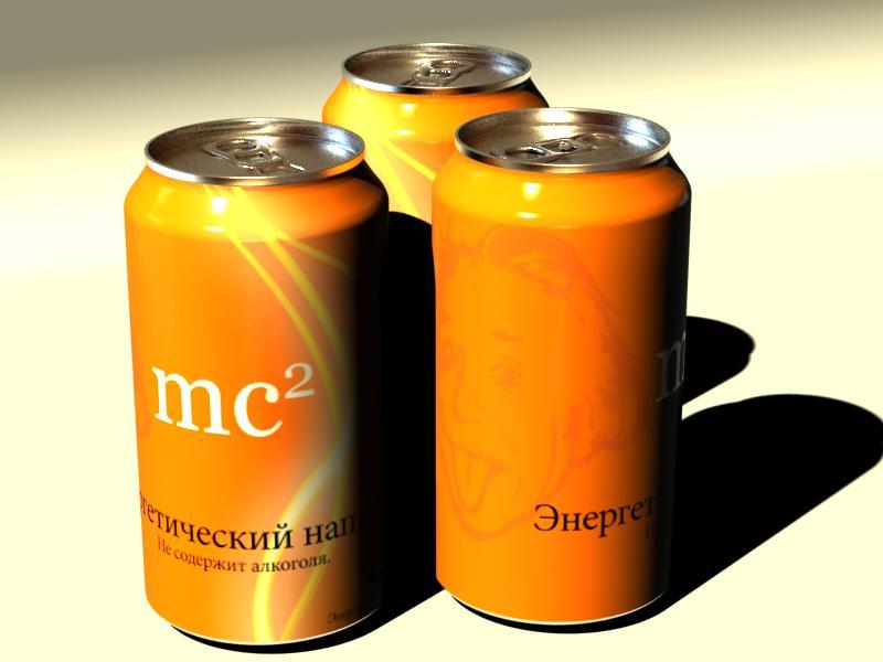 Энергетический напиток «mc²»
