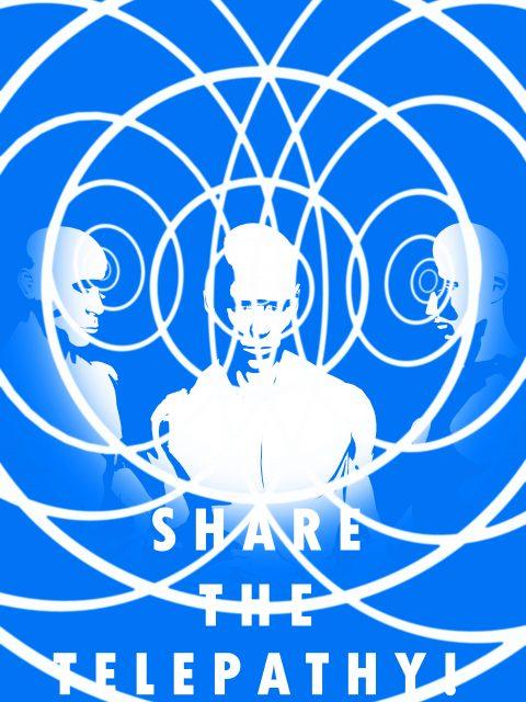 SHARE THE TELEPATHY v.1