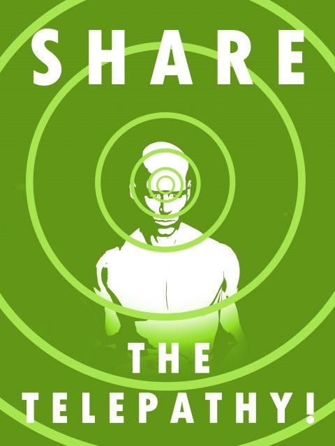 SHARE THE TELEPATHY v.3